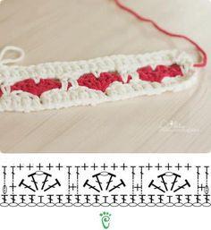 Watch This Video Beauteous Finished Make Crochet Look Like Knitting (the Waistcoat Stitch) Ideas. Amazing Make Crochet Look Like Knitting (the Waistcoat Stitch) Ideas. Crochet Vintage, Crochet Diy, Crochet Motifs, Crochet Borders, Crochet Diagram, Crochet Stitches Patterns, Crochet Chart, Love Crochet, Stitch Patterns