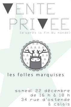 Les Folles Marquises : Vente privée (d'après la fin du monde) le 22 décembre.  Nouvelle collection en exclusivité et 10 % sur tous les bijoux !