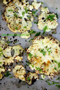 Arabafelice in cucina!: Cavolfiore arrosto con limone e prezzemolo