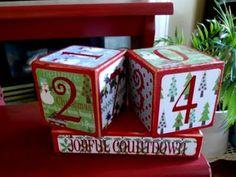 SUPER SATURDAY CRAFT KITS: Countdown Blocks