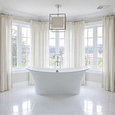 Bay Windows Bathroom, Traditional, bathroom, Brooke Wagner Design
