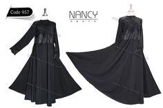 Code 957  #hijab #Style #Kaftan #Wedding #Abaya #Abayafashion #Abayadesigns #designs #Blackabaya #Lace #abayat #Khaleeji #Hijab #modern #open #modestclothing #fashionmodesty #thehijabstyle #nancyabaya #Jalabiya #Jubah #abayasaudi #Islamiclothing #dress #headscarf