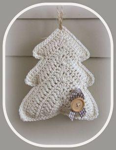 Delicadezas en crochet Gabriela: Árbol de navidad