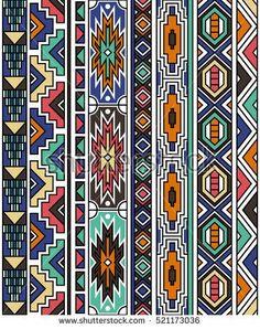 Geometric art prints textile design african patterns New ideas Tribal Patterns, Tribal Prints, Tribal Art, Art Prints, African Patterns, Art Patterns, Motifs Aztèques, Abstract Geometric Art, Africa Art
