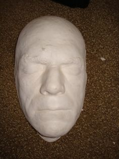 Boris Karloff Plaster death mask 10 Horror/Monster by ScootersShop, $45.00
