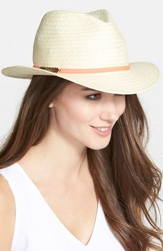 Vince Camuto Straw Panama Hat available at  Nordstrom Női Divat 895546a565