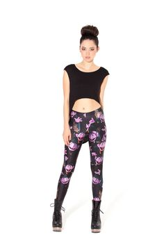 HOLLY PISS I WANT THESE!!!! The Count Leggings (Made To Order) by Black Milk Clothing