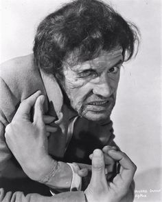 Michael Gwynn in Revenge of Frankenstein featuring a test makeup by Phil Leakey. Local Movies, Sci Fi Movies, Scary Movies, Hammer Films, Horror House, Famous Monsters, Classic Horror Movies, Classic Monsters, Fright Night