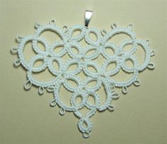 Honey Bee's Bliss: Needle Tatting: SweetHeart Motif