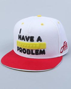 NEW!! Flat Fitty - I Have A Snapback Problem Hat
