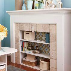 Fireplace alternatives on pinterest fireplace tiles for Alternative fireplaces