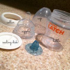 munchkin LATCH bottle (review) #LoveLatch #ad