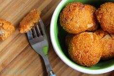 tomato and cheese quinoa balls
