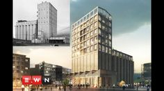 Zeitz MOCAA: From grain silo to SA's first contemporary art museum - YouTube