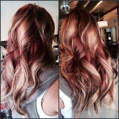 53 Trendy Hair Color Rose Gold Eyeliner – Rainbow Hair Colors – … – … - All For Hair Color Trending Red Copper Hair Color, Ginger Hair Color, Gold Hair Colors, Copper Rose, Copper Ombre, Copper Blonde, Color Red, Rose Gold Hair Brunette, Rose Hair