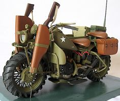 rifle+scabard+on+motorcycle | This opposite view shows the motorcycle's two rifle scabbards, its ...
