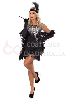 1920s fashion #dress for express post delivery within #Australia, best choice for dance #parties and hens night party.