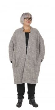Hindahl & Skudelny Pebble Textured Jersey Coat