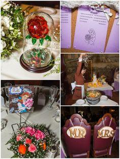 Beauty and the Beast Wedding Ideas | http://simpleweddingstuff.blogspot.com/2014/03/beauty-and-beast-wedding-ideas.html