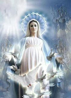 The most Holy Mother Mary of Medjugorje.