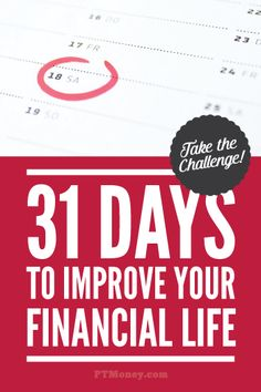 PT's challenge offers 31 easy, actionable ways to improve your financial life! Ideas for saving, investing, and making more money. Each day of the month read about and implement a new strategy.
