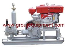 Grouting work widely in dam project, Gaodetec grouting pump is widely used in the three gorges dam project: The grouting pump GDM130/20: