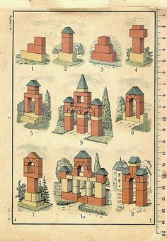 All Things Ruffnerian, a Design Blog and More: Architecture 101, Anchor Building Blocks