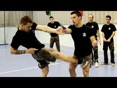 If you are interested in Krav Maga but not sure whether to get a professional training in it, these answers to Frequently Asked Questions about this self defense system would help you make up your mind. Krav Maga as a clos Techniques Krav Maga, Self Defense Techniques, Aikido, Karate Do, Mma, Israeli Krav Maga, Krav Maga Self Defense, Learn Krav Maga, Mixed Martial Arts