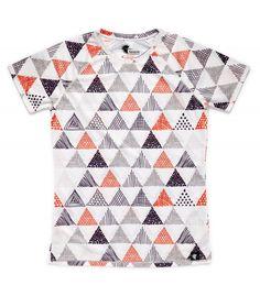 camiseta running mujer triangulos triangles Hoopoe Running Apparel