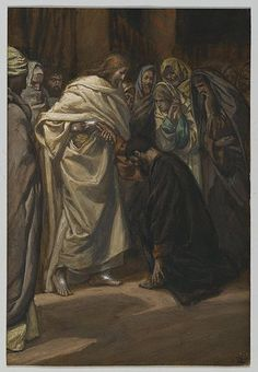 The disbelief of Thomas (Tissot)