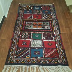 Moroccan Taznakht rug 210cm x 115cm taznakht berber by Tourismedia, $390.00