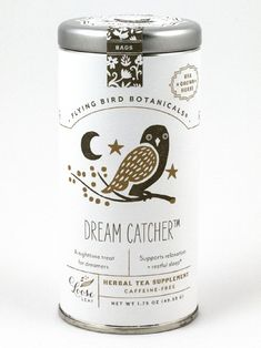 Package Design: Flying Bird Botanicals. I just want that tin