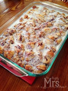 Cinnamon Baked French Toast. There's nothing about any of those four words that isn't good. Combine them all together and it's like an explosion of mouthwatering happiness. A good friend made this for us during a visit to her house awhile ago. It's a variation of Pillsbury's Cinnamon Baked French Toast recipe using canned Pillsbury […]