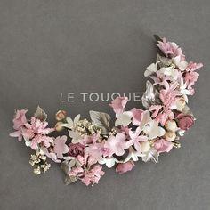 Floral Headdress, Bridal Headdress, Flower Tiara, Flower Crown, Wedding Hair Flowers, Flowers In Hair, Hair Jewelry, Bridal Jewelry, Hair Decorations