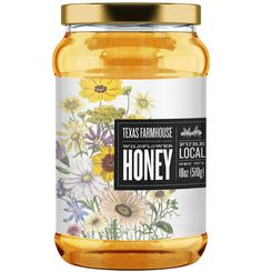 Texas Farmhouse Wildflower Honey on Behance