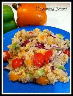 Simple Quinoa Salad #salad #simplerecipe