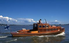"""KEBB II"" - is a (30') C.G. Pettersson Pleasure Yacht - Built (1921)"