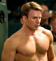Chris Evans - Captain America Indeed!