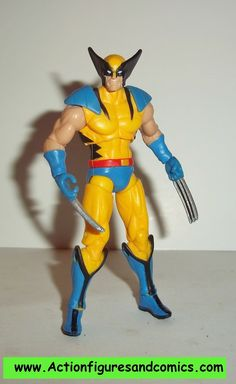 marvel universe WOLVERINE yellow sentinel exclusive x-men hasbro 3.75 inch action figures complete
