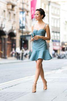 London Mermaid :: Metallic dress