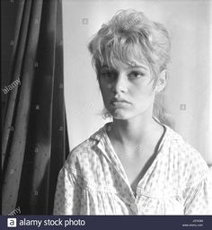 """Stock Photo - French actress Brigitte Bardot on the shooting of the film """"The Bride Is Too Beautiful"""" (director: Pierre Gaspard-Huit) 1956 does not manage Brigitte Bardot copyright Brigitte Bardot Young, Bridget Bardot, Marlene Dietrich, Most Beautiful Women, Beautiful Outfits, Beautiful Clothes, Beautiful People, Julie Christie, French Actress"""