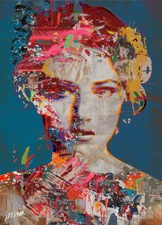 Mixed Media Paintings by Egyptian Artist Hossam. Sun Painting, Abstract Landscape Painting, Abstract Portrait, Portrait Art, Painting & Drawing, Portraits, Landscape Paintings, Abstract Art, Pop Art