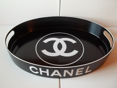 Hand Painted Chanel Inspired Tray