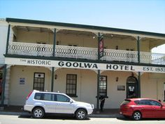 SA - Goolwa - Goolwa Hotel - Established in 1853 as the Goolwa Hotel, renamed Globe Hotel 1860 and Goolwa Hotel in National Trust listed. Raspberry Lemonade, National Trust, Places To Eat, Small Towns, Family History, Globe, Hotels, Speech Balloon, Genealogy