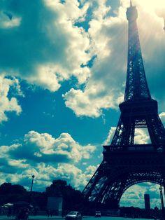 Sky in #Paris