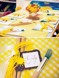 Crafty You Are My Sunshine Birthday Party