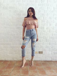 My hot momma Your style is always so gorgeous mom from - OOTD of the gorgeous for Event yesterday (Swipe) ✔️ ❣️ Stylist Nadine Lustre Fashion, Nadine Lustre Outfits, Lady Luster, Flattering Outfits, Summer Outfits, Cute Outfits, Liza Soberano, Ootd, Celebs