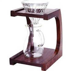Pour-over coffeemaker/stand, $250 at clivecoffee.com