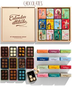Шоколад за закуска • Great Chocolates packaging design with Attitude! | Art And Chic