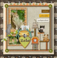 Created with I LOVE MY PET Bundle by Maria Designs. You can find it here Paper Scraps, Dear Friend, Digital Scrapbooking, Christmas Crafts, Messages, Pets, My Love, Create, Design
